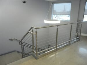 commercial handrail