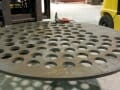 custom fabricated metal plate